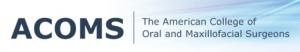 Academy of Oral and maxillofacial surgery